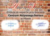 Cegiełka Centrum Aktywnego Seniora