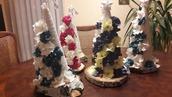 Piękna świąteczna choinka